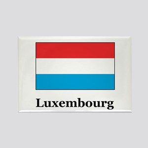 Luxembourg Rectangle Magnet