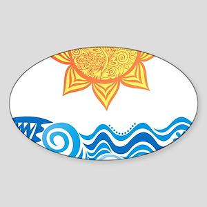Sun and Sea Sticker
