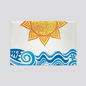Sun and Sea Magnets