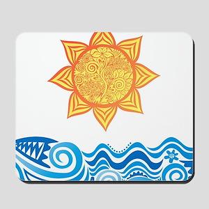 Sun and Sea Mousepad