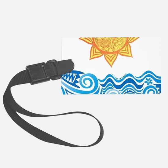 Sun and Sea Luggage Tag