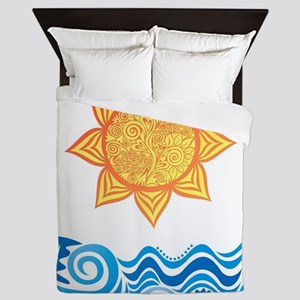 Sun and Sea Queen Duvet