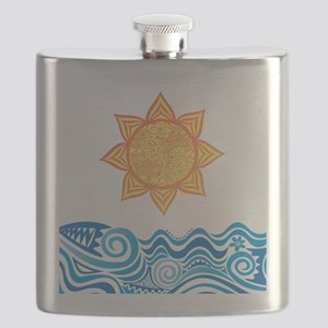 Sun and Sea Flask