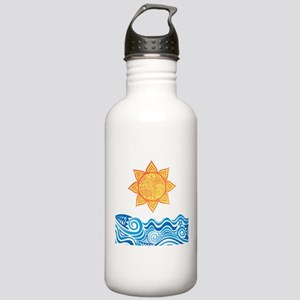 Sun and Sea Water Bottle