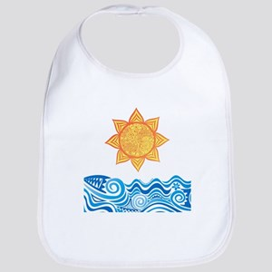 Sun and Sea Bib