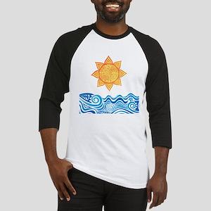 Sun and Sea Baseball Jersey