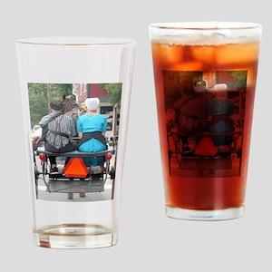 Sunday Drive Drinking Glass