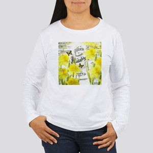 Vintage daffodils Long Sleeve T-Shirt
