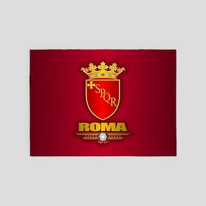 Rome COA 5'x7'Area Rug