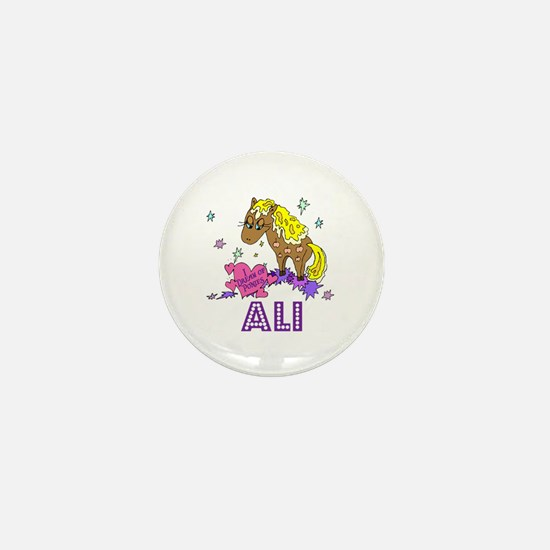 I Dream Of Ponies Ali Mini Button