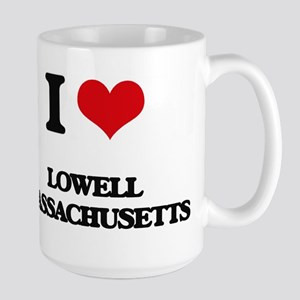 I love Lowell Massachusetts Mugs