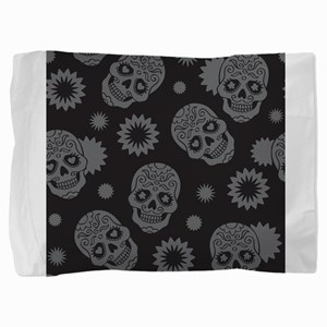 Sugar Skulls Pillow Sham