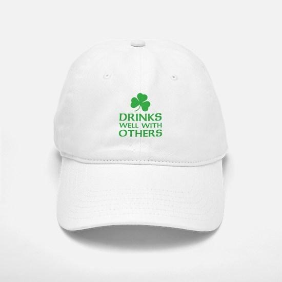 Drinks Well With Others Baseball Baseball Baseball Cap