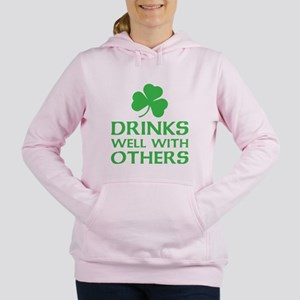 Drinks Well With Others Women's Hooded Sweatshirt