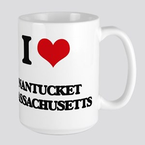 I love Nantucket Massachusetts Mugs