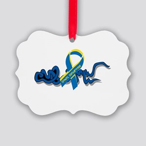 Down Syndrome Awareness Design with Added Ribbon O