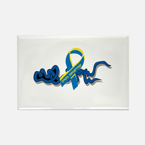 Down Syndrome Awareness Design with Added Ribbon M