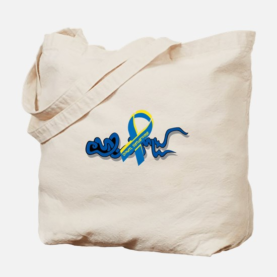 Down Syndrome Awareness Design with Added Ribbon T