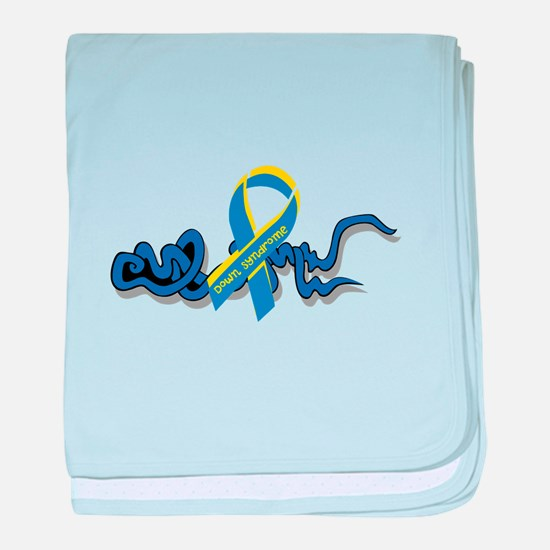 Down Syndrome Awareness Design with Added Ribbon b