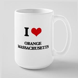 I love Orange Massachusetts Mugs