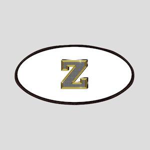 Z Gold Diamond Bling Patch