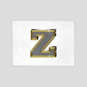 Z Gold Diamond Bling 5'x7' Area Rug