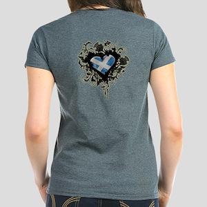 Scottish Heart Women's Dark T-Shirt