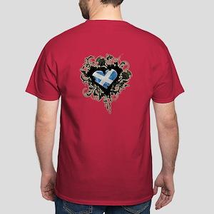 Scottish Heart Dark T-Shirt