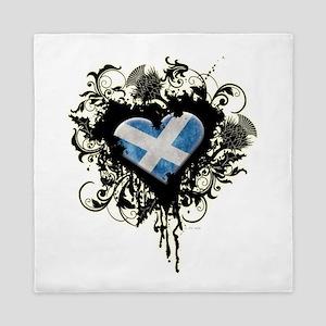 Scottish Heart Queen Duvet