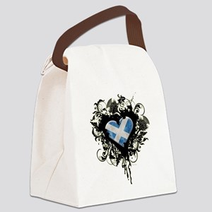 Scottish Heart Canvas Lunch Bag