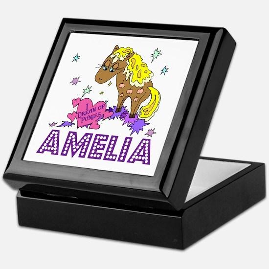 I Dream Of Ponies Amelia Keepsake Box