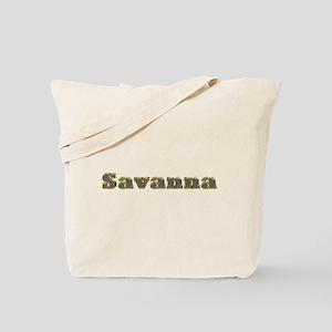 Savanna Gold Diamond Bling Tote Bag