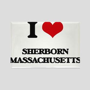 I love Sherborn Massachusetts Magnets