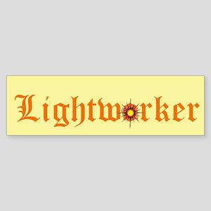 Lightworker (bumper) Bumper Sticker