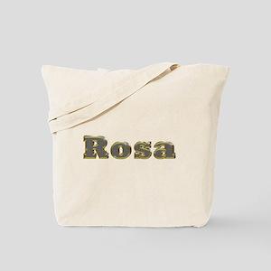 Rosa Gold Diamond Bling Tote Bag