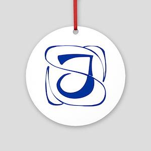J-Kon blue2 Ornament (Round)