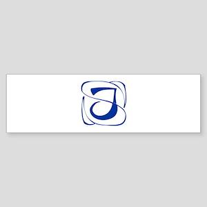 J-Kon blue2 Bumper Sticker
