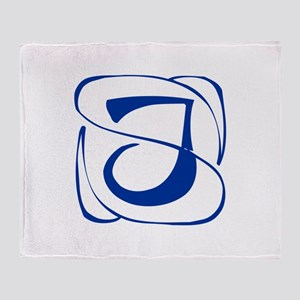 J-Kon blue2 Throw Blanket