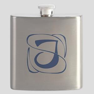J-Kon blue2 Flask