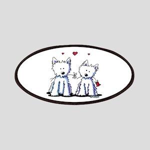 KiniArt Westie Friends Patch