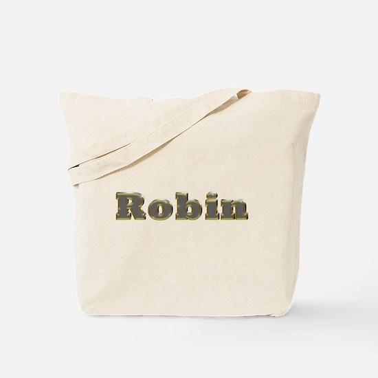 Robin Gold Diamond Bling Tote Bag