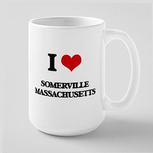 I love Somerville Massachusetts Mugs