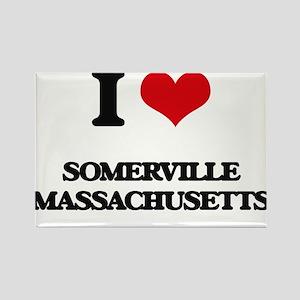 I love Somerville Massachusetts Magnets