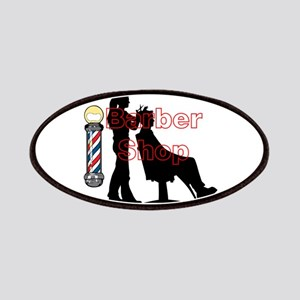 Lady Barber Shop Design Patch