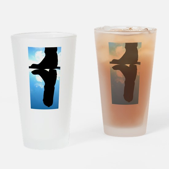 cowboy boots Drinking Glass