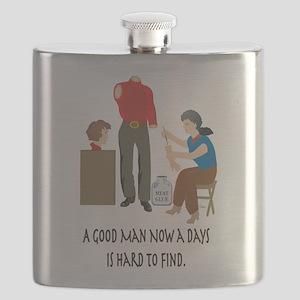 Good Man_notecard Flask