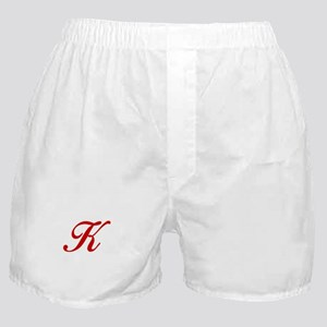 K-Bir red2 Boxer Shorts