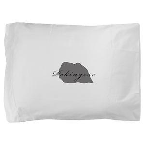 15-greysilhouette2 Pillow Sham