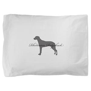 22-greysilhouette2 Pillow Sham