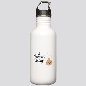 I Pooped Today! Stainless Water Bottle 1.0L
